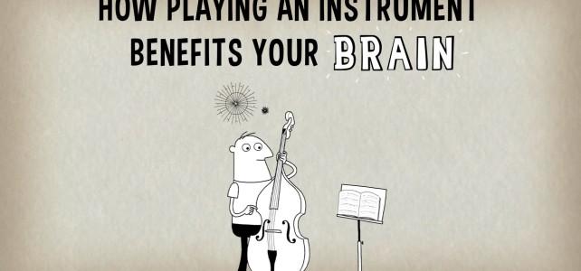 Suonare uno strumento musicale – effetti positivi sul cervello